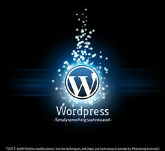 Simply Something Sophisicated - a WordPress poster by teddy-rised