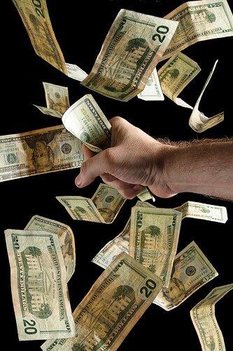 Money Grab by Steve Wampler.