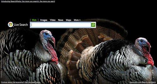 Live.com Thanksgiving 2008
