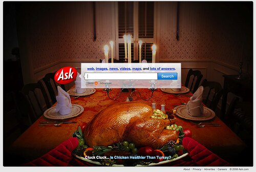 Ask.com Thanksgiving 2008