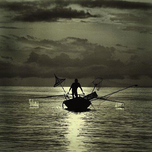 Fishing by eyecatcher.