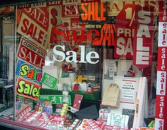 Sale In A Sale Shop Selling Sale Signs by the justified sinner